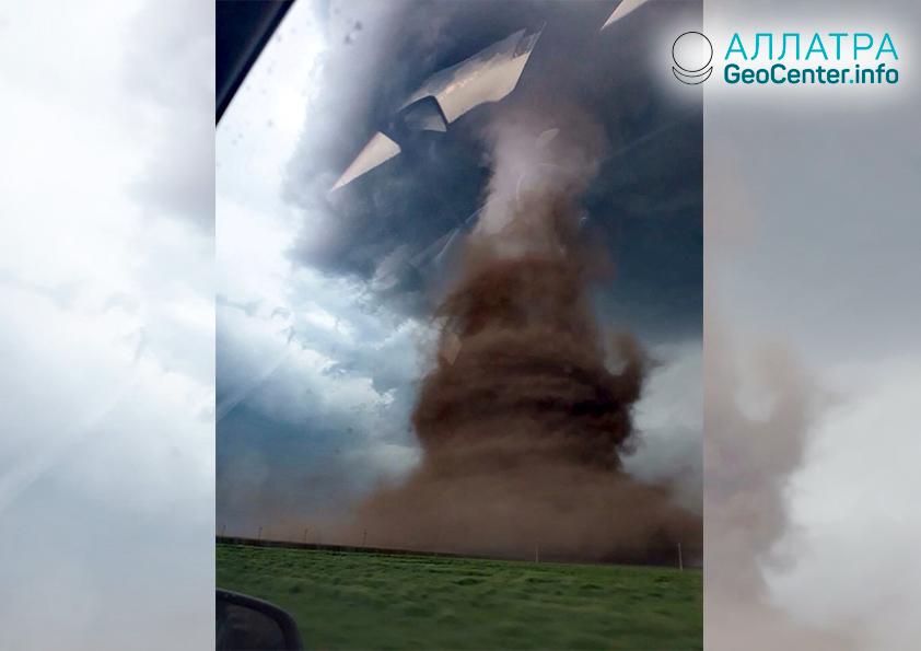 Торнадо в Румынии, апрель 2019