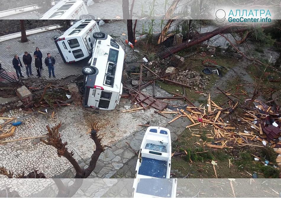 Торнадо в Турции, 24 января 2019
