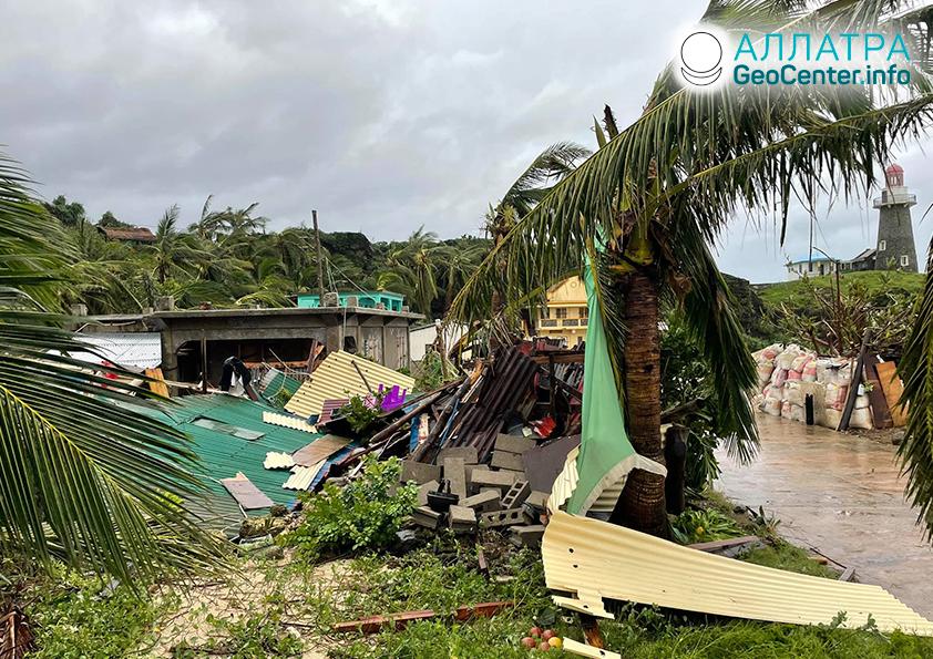 Тропические циклоны в мире, сентябрь 2021