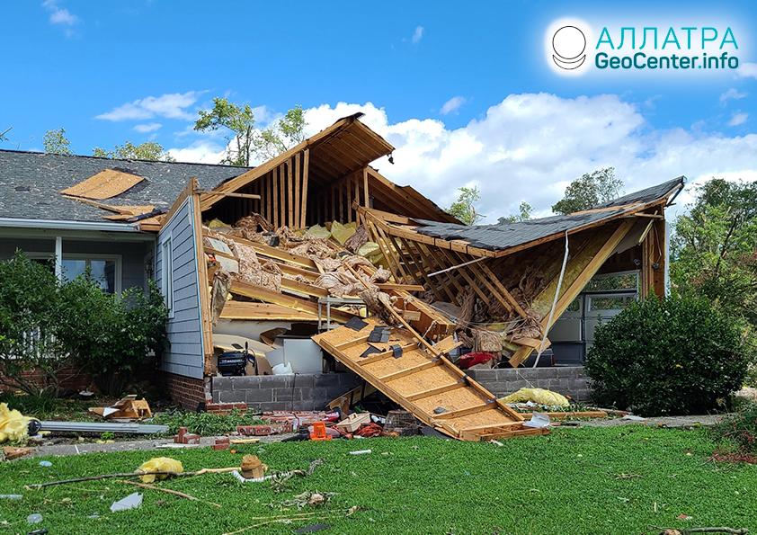 Тропические штормы и ураганы, август 2020