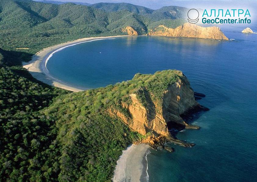 У берегов Эквадора произошло землетрясение магнитудой 6,2