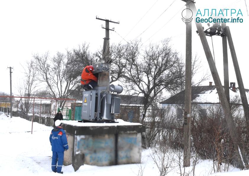 Ухудшение погодных условий в Крыму, декабрь 2018