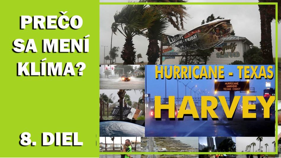 Prečo sa mení klíma. Hurikán