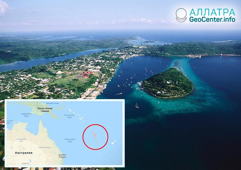 В Вануату произошло землетрясение магнитудой 6,2, март 2019