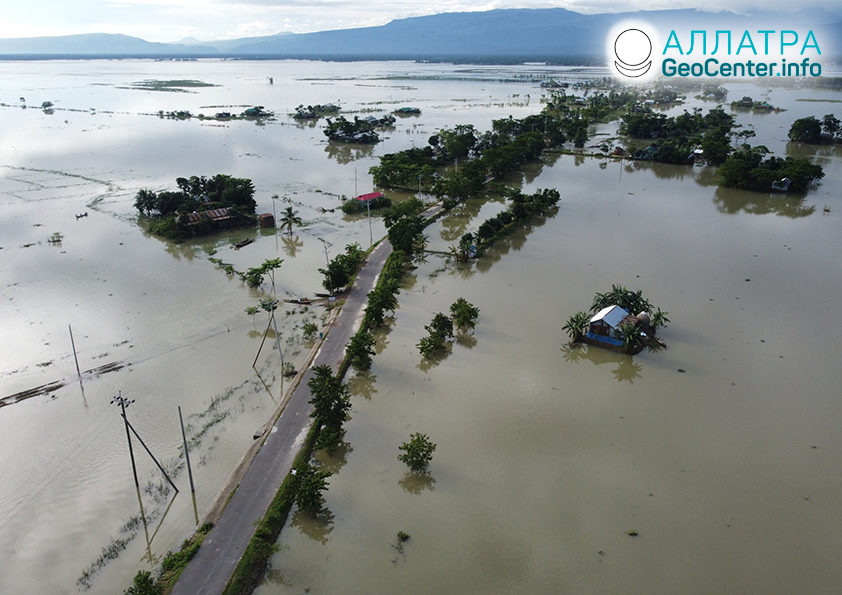 Nečakané záplavy, júl 2020