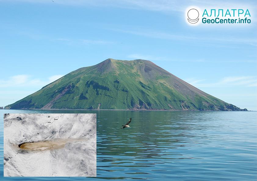 Sopka Raikoke. Erupcia po 95 ročnom mlčaní