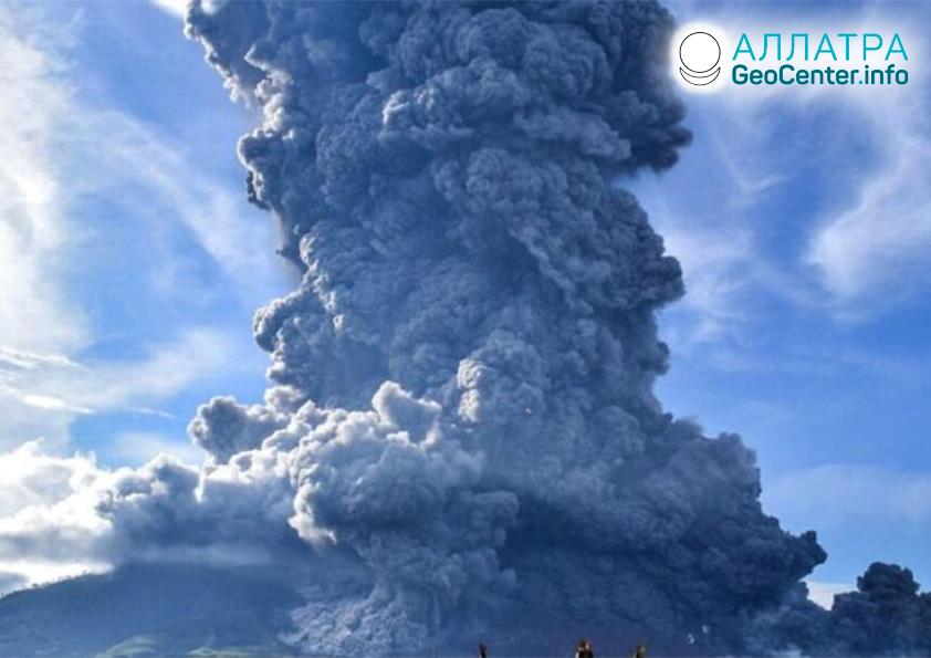 Вулканическая и сейсмическая активность на планете, ноябрь 2020