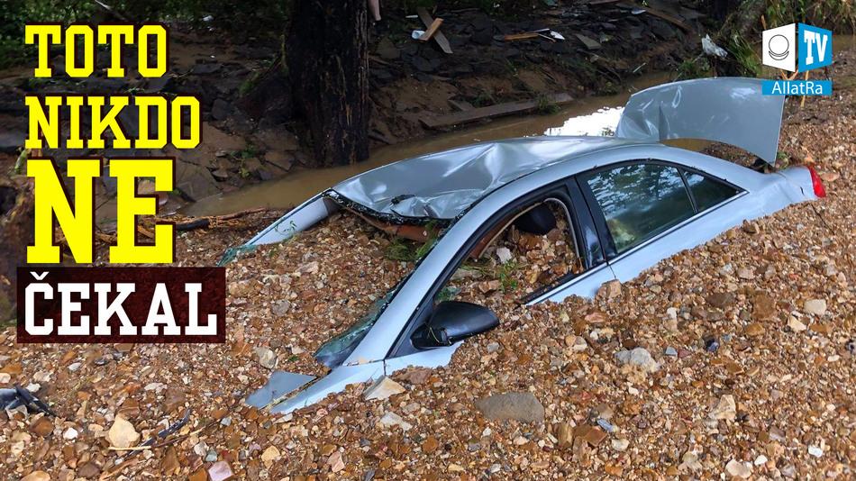 Záplavy v Tennessee! Nebezpečné bouře: Fred, Henry, Grace. Velké lesní požáry. Mimořádné zprávy