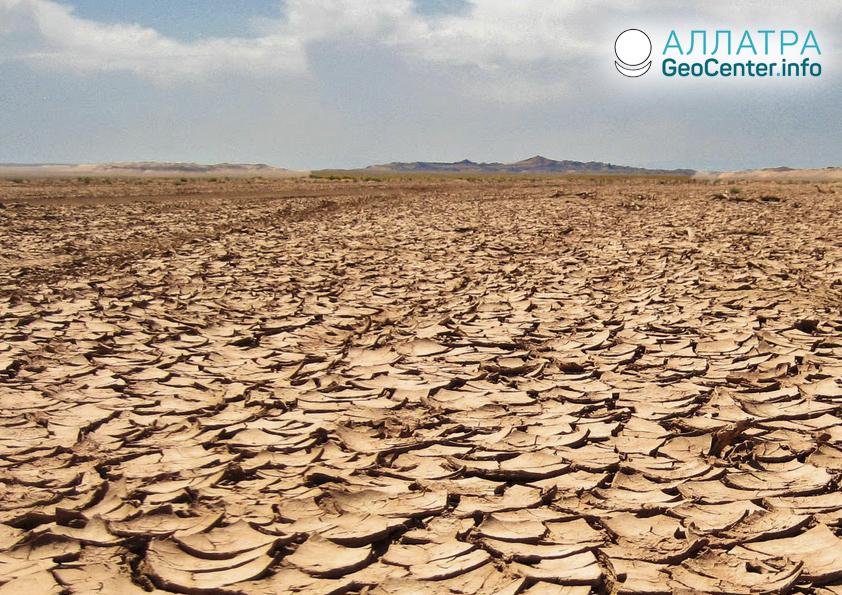 Sucho v Namibii, květen 2019