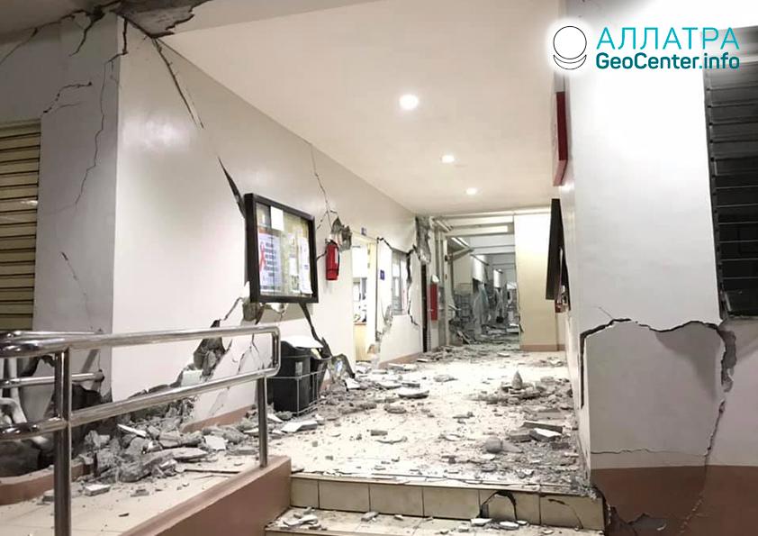 Землетрясение на Филиппинах, октябрь 2019