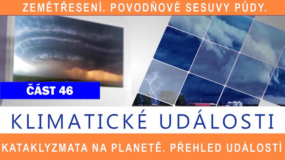 Klimatické události ve světě 14.1. - 20.1.2017