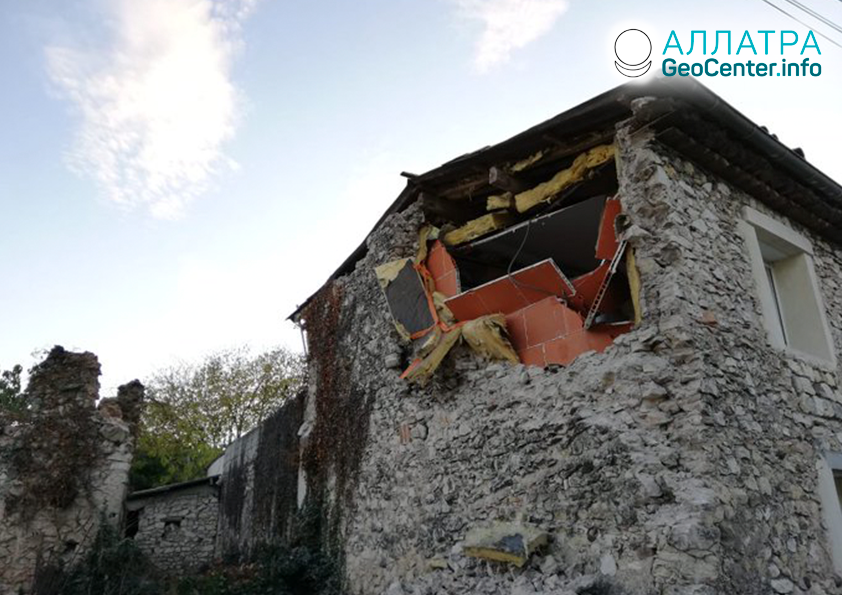 Zemetrasenie vo Francúzsku, november 2019
