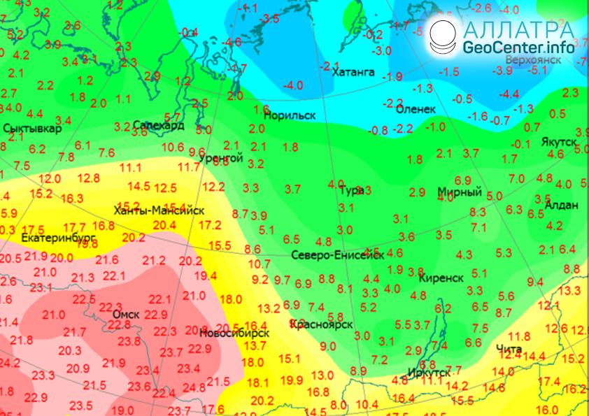 Horúca jeseň v Rusku, október 2019