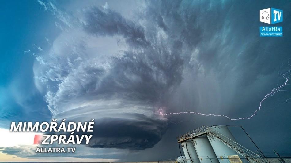 Zuřící bouře Amanda → Bouře Cristobal v Mexickém zálivu. Bouřky v USA → 87 000 blesků a povodně