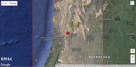 Землетрясение в Аргентине, март 2018 г.