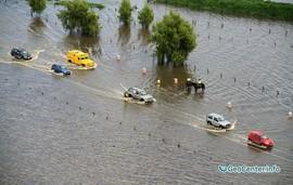 Проливные дожди вызвали наводнение в Колумбии