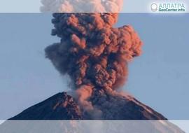 Извержение грязевого вулкана в Азербайджане, сентябрь 2018 г.