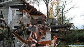 Наводнение в американских штатах  Пенсильвания и Массачусетс