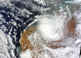 Сильный шторм в австралийском Квинсленде