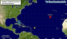 Ураган «Офелия» идет в Европу, октябрь 2017