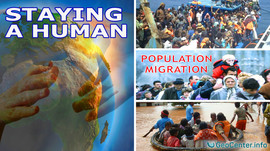 Climate Change and Population Migration. Staying a Human.