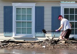 Ливни, наводнение и сели в Калифорнии, США, январь 2018 года