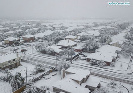 Торнадо и снегопады в городах США, 7-8 декабря 2017 года