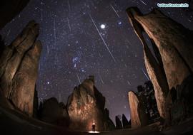 Леониды: самый скоростной метеорный поток