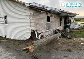 Мощные торнадо, первая декада апреля 2021