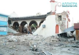 Мощные землетрясения в Пуэрто-Рико, январь 2020