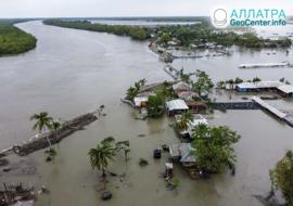 Мощный циклон «Амфан» в Индии и Бангладеш, май 2020