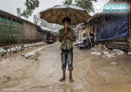 Наводнение в Бангладеше, июль 2019