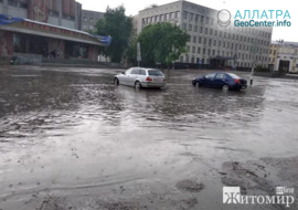 Наводнения и ураган на Украине, май 2019