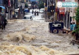 Наводнения на планете, октябрь 2020