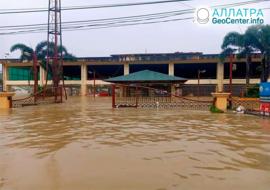 Záplavy vo svete, koniec apríla 2021