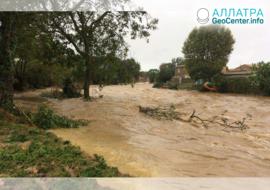Povodně v Tunisku, listopad 2019