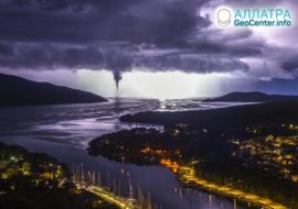 Смерчи и торнадо, октябрь 2020