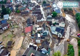 Смертоносные наводнения в Европе, середина июля 2021 года