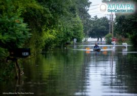 Ураган «Барри» и его последствия, США, июль 2019