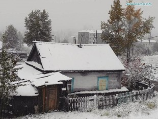 В Якутию пришла зима
