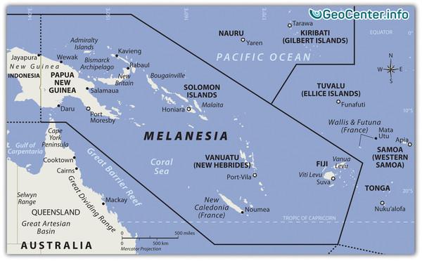 Серия землетрясений у Соломоновых островов
