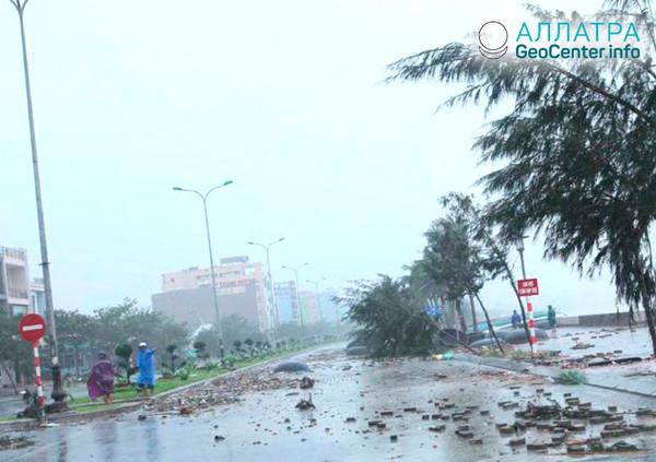 Тайфун в Японии, август 2018 г.