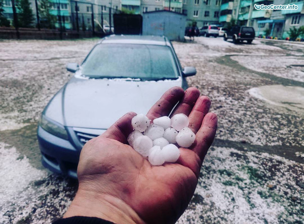Похолодание, снег и град в Иркутской области и в Забайкалье