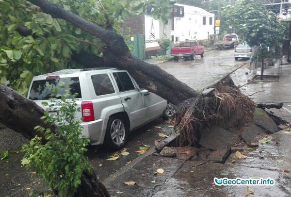 Hurricane Max reached Acapulco, Mexico September 2017
