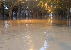 Ураган и наводнение в Абхазии 3 августа 2016