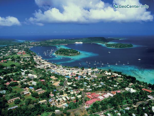 Землетрясение магнитудой 5,9 у берегов Вануату (Меланезия)