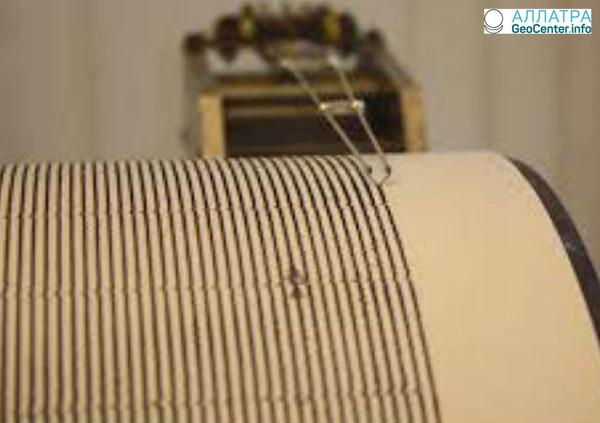 В итальянской провинции Мачерата произошло землетрясение