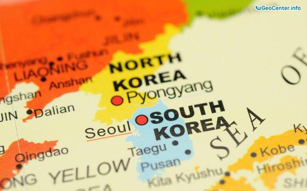 Песчаная буря и лесные пожары в Южной Корее