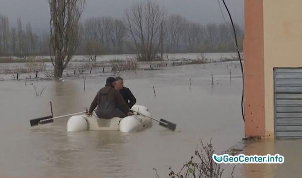 Наводнение в  Албании, февраль 2018