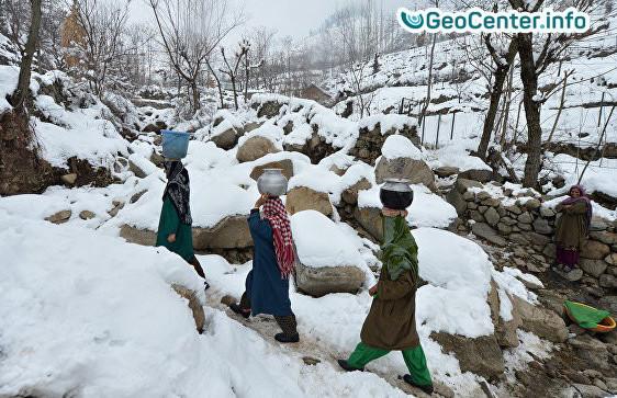 Аномальные Холода в Индии